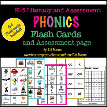 phonics flash cards and assessment