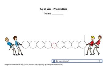 phonics tug of war