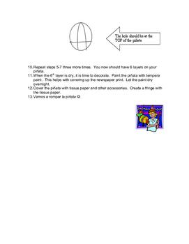 piñata instructions
