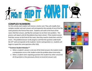 pick IT-flip IT-solve IT (complex numbers)