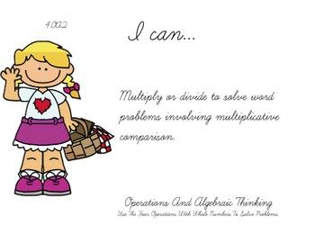 picnic Theme 4th Fourth Common Core Posters Math Mathematics Posters