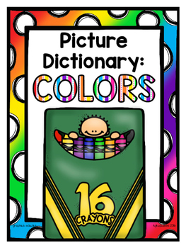 picture dictionary: colors