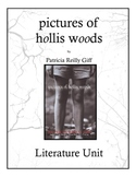 pictures of hollis woods by Patricia Reilly Giff Literature Unit