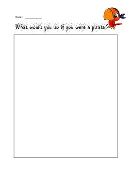 pirate writing prompt