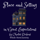 place, setting, and atmosphere in Great Expectations by Ch