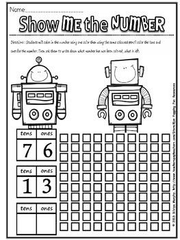 place value Robots(free)
