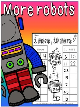 place value Robots(free)