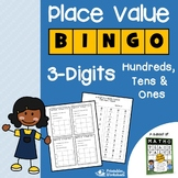 Place Value Bingo 3rd Grade Place Value Center, Number Word Form Activities