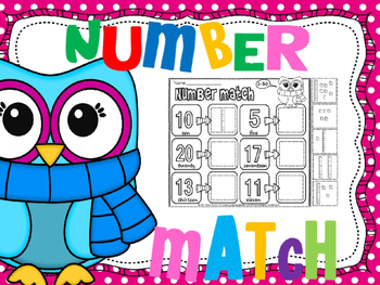 place value number match