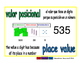 place value/valor posicional prim 1-way blue/verde