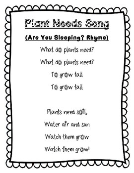 plant needs song