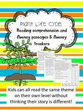plant parts and life cycle fluency and comprehension leveled passages