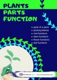 Plants and Seeds plants unit plants parts and functions  8