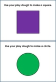 playdough mats - shapes