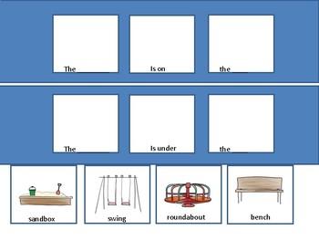 playground preposition work