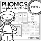 plural worksheets