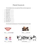 plurals homework