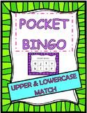 pocket BINGO upper and lowercase match