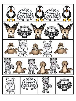 polar animal patterning mats