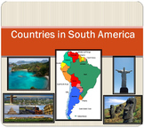 South America - Countries - PowerPoint - Brazil - Chile - Argentina - Ecuador...