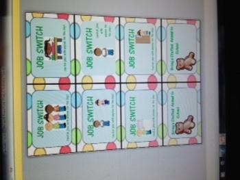 polka dot reward cards