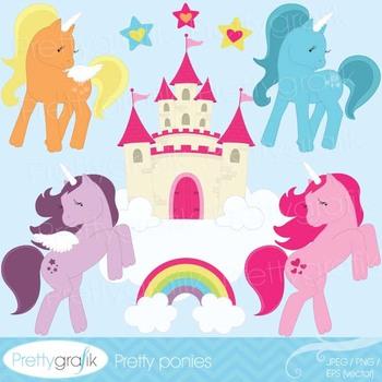pony clipart commercial use, vector graphics, digital clip art - CL514