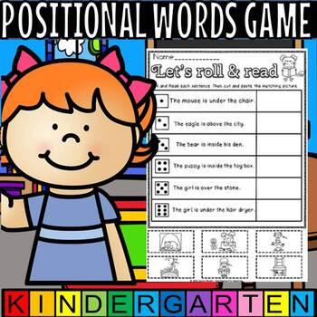 positional words(flash freebie)