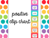 FREE TODAY!   positive clip chart