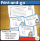 Possessive Pronouns Task Cards and Worksheets