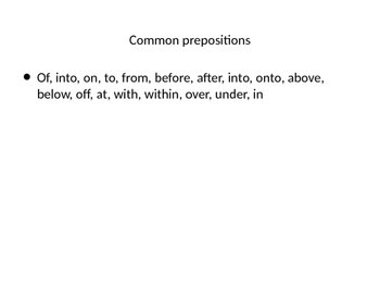 power point on verbs