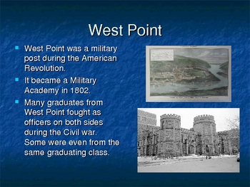 power point on the American Civil War