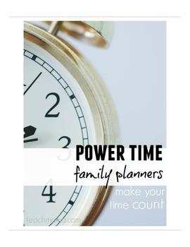 power time planner [bundle]   teachmama.com