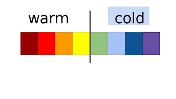powerpoint warm and cool colours
