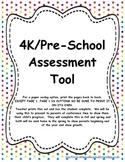 4k/Pre-K Assessment Tool