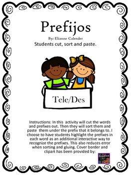 prefix /prefijos des & tele