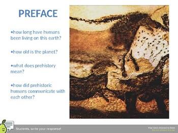 prehistoric art slides