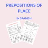 prepositions in spanish practice / preposiciones