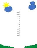 preschool count to 12 math sheet