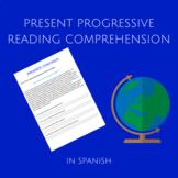 present progressive in spanish / presente continuo.