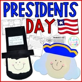 President's Day {Craftivities: Washington & Lincoln}