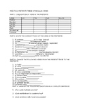 preterite  tense worksheets spanish