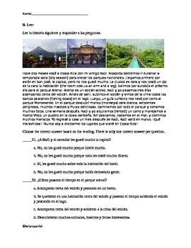 Preterite Exam Version 2