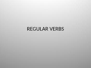 preterite/simple past oral practise