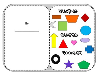 primary grades tracing shapes booklet - learn about your shapes as you trace