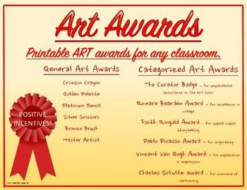 Art award certificates printable colorful several categories to art award certificates printable colorful several categories to choose from yelopaper Gallery