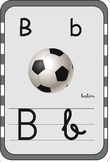 printable Alphabet Flash Cards English and Spanish / abece