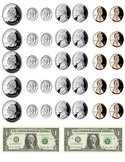 printable money - coins