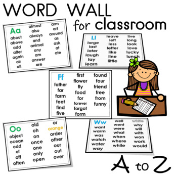 word wall for classroom