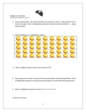 "Printable Worksheet for Common Core Standard 3.OA.A.1  ""Grapes"""