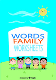 "[color, cut and glue]printable worksheets for ""-ad word family"""